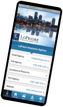 The LoPriore Insurance mobile app is here to help wherever your life takes you!