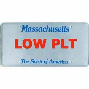 Massachusetts Low Plate Lottery