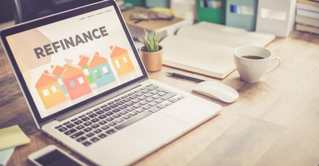 Refinance my mortgage on a home laptop.