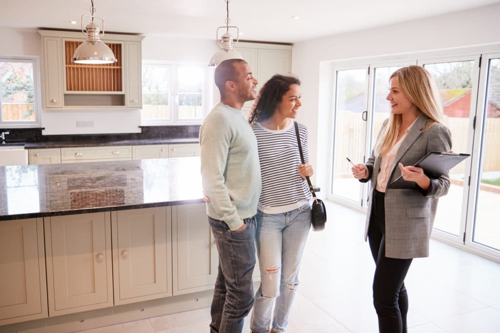 A couple working with the wrong realtor as she is only interested in a higher commission.